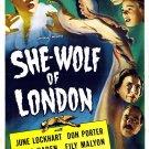 She-Wolf Of London (1946) - June Lockhart  DVD