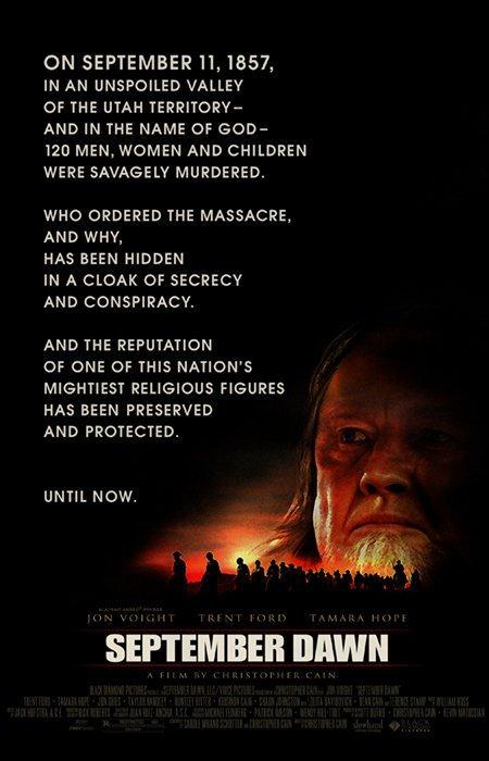 September Dawn (2007) - Jon Voight  DVD
