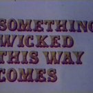 Something Wicked This Way Comes (1972)  DVD