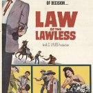 Law Of The Lawless (1964) - Dale Robertson  DVD