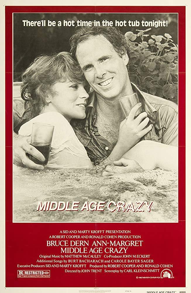 Middle Age Crazy (1980) - Bruce Dern  DVD