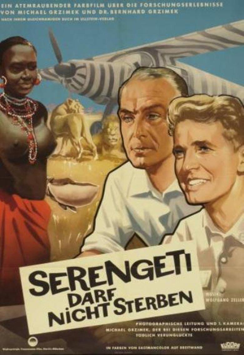 Serengeti Shall Not Die (1959) - Bernhard Grzimek  DVD
