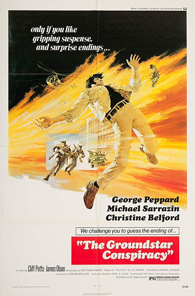 The Groundstar Conspiracy (1972) - George Peppard  DVD