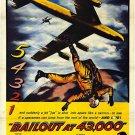 Bailout At 43,000 (1957) - John Payne  DVD