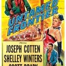 Untamed Frontier (1952) - Joseph Cotten  DVD