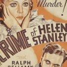 The Crime Of Helen Stanley (1934) - Ralph Bellamy  DVD