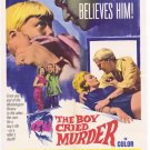 The Boy Cried Murder (1966) - Tim Barrett  DVD