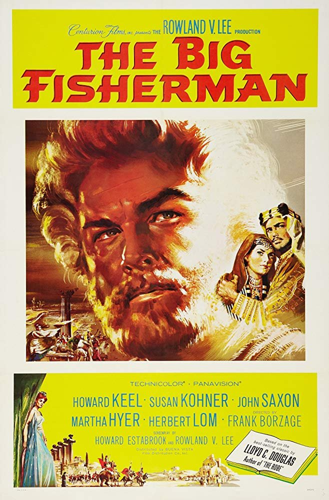 The Big Fisherman (1959) - Howard Keel  DVD