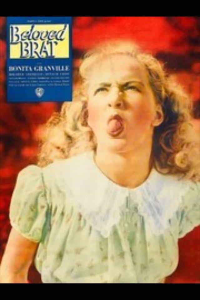 The Beloved Brat (1938) - Bonita Granville  DVD