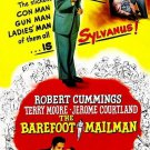 The Barefoot Mailman (1951) - Robert Cummings  DVD