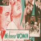 He Knew Women (1930) - Lowell Sherman  DVD