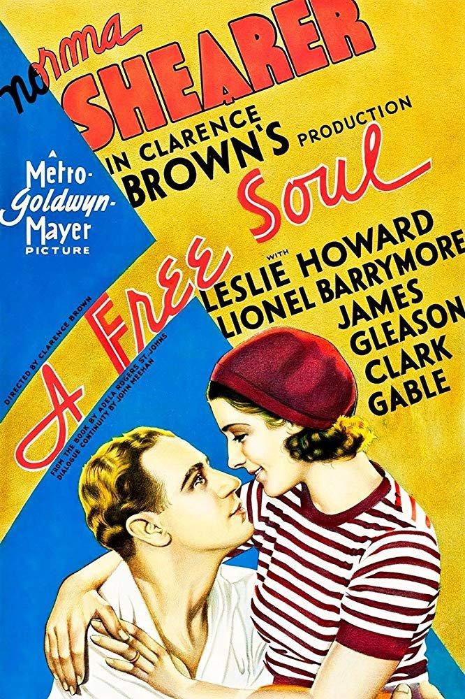 A Free Soul (1931) - Norma Shearer  DVD