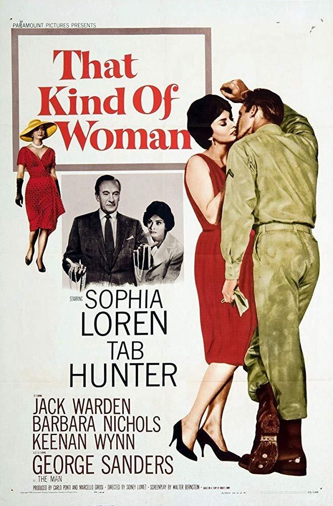 That Kind Of Woman  (1959) - Sophia Loren  DVD