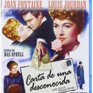 Letter From An Unknown Woman (1948) - Joan Fontaine  Blu-ray