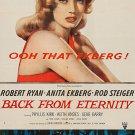 Back From Eternity (1956) - Robert Ryan  DVD