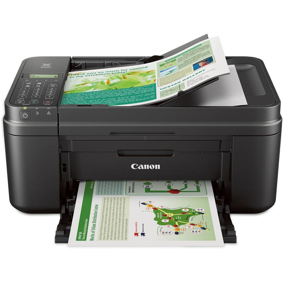 New Canon PIXMA MX492 Wireless All-in-One Printer Copier Scanner Fax Machine