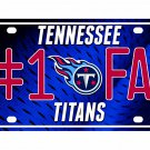 Tennessee Titans NFL Number One Fan License Plate