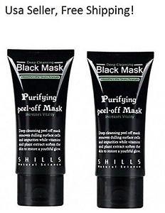 SHILLS Blackhead Remover Peel Acne Black Mud Face Mask (2 PACKS)