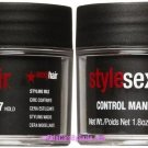 Short Sexy Hair Control Maniac Wax, 1.8 oz, 2 pk