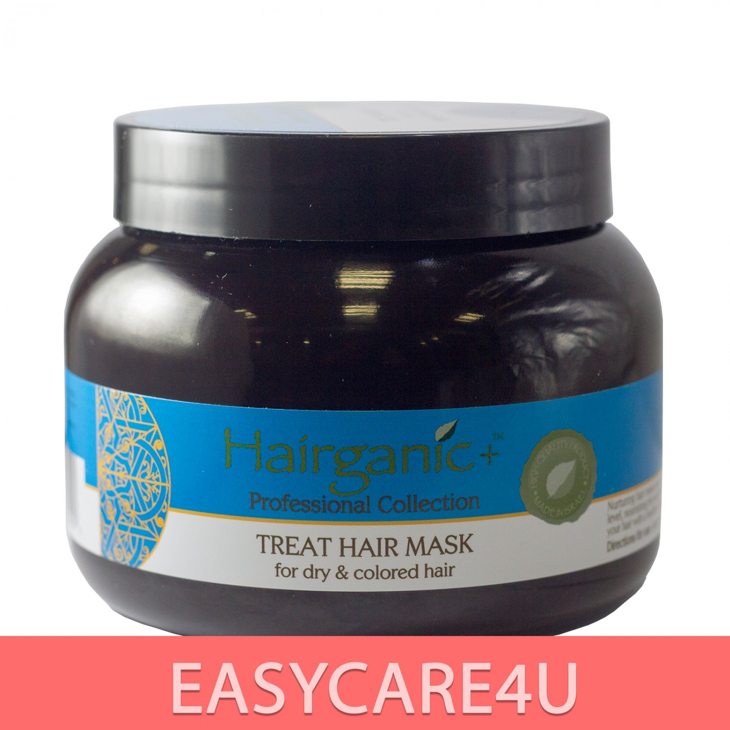 Hairganic Pro Collection Treat Hair Mask Enriched With Argan Oil From Morocco