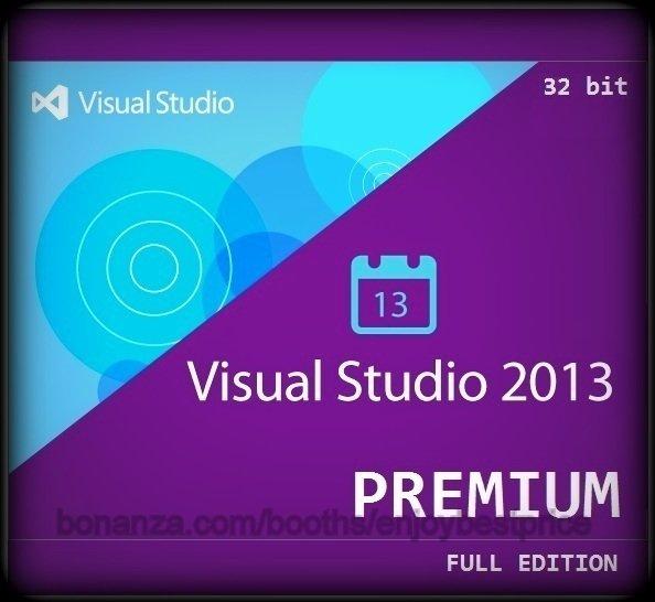 Visual Studio 2013 Premium 32 bit Full Edition Software Download Link + Key