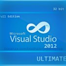 Visual Studio 2012 Ultimate 32 bit Full Edition Software Download Link & Key