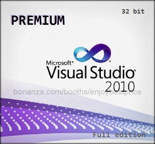 Visual Studio 2010 Premium 32 bit Full Edition Software Download Link & Key
