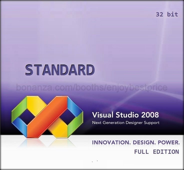 Visual Studio 2008 Standard 32 bit Full Edition Software Download Link + KEY