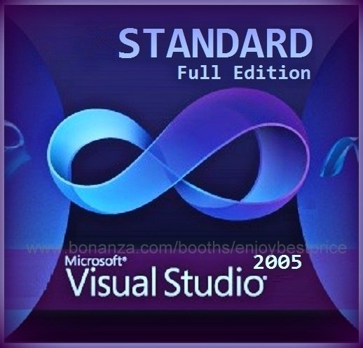 Visual Studio 2005 Standard 32 bit Full Edition Software Download Link & Key