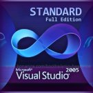 Visual Studio 2005 Standard 32 bit Full Edition Software Download Link & Key
