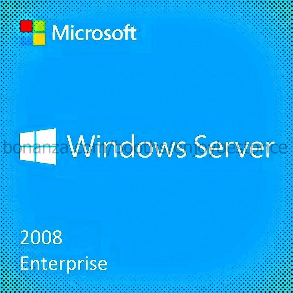 Microsoft Windows Server 2008 Enterprise SP2 32 64bit Lifetime KEY Download Link
