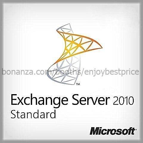 Microsoft Exchange Server 2010 Standard SP1 64bit 1 User CAL |Lifetime| KEY+LINK