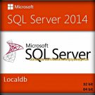 SQL Server 2014 Localdb LOCAL DB 32 64 bit Lifetime Full Edition Download Link