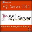 SQL Server 2014 Business Intelligence Edition 32 64 bit Lifetime Key & Software