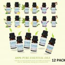 12 Skymore Essential Oil Blend Pure Aromatherapy Diffuser Therapeutic Grade 10ml