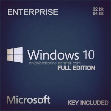 Microsoft Windows 10 Enterprise  32 64 bit License key & Download link Lifetime Full Edition