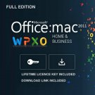 Microsoft Office MAC 2011 Home & Business Lifetime Key + Download