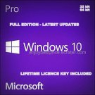 Windows 10 Pro 64/32 bit Professional License key & Download link