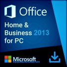 Microsoft Office 2013 Home & Business 32 64 bit Lifetime KEY Soft Link INCLUDED