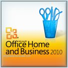 Microsoft Office 2010 Home & Business 32 64 bit Lifetime KEY Soft Link INCLUDED