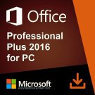 Microsoft Office 2016 Pro Plus 32 64 bit Lifetime KEY Soft Link INCLUDED