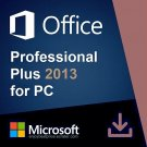Microsoft Office 2013 Pro Plus 32 64 bit Lifetime KEY Soft Link INCLUDED