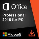Microsoft Office 2016 Professional 32 64 bit Lifetime KEY Soft Link INCLUDED