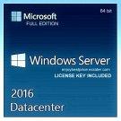 Microsoft Windows Server 2016 Datacenter 64-bit Licence Key +Soft