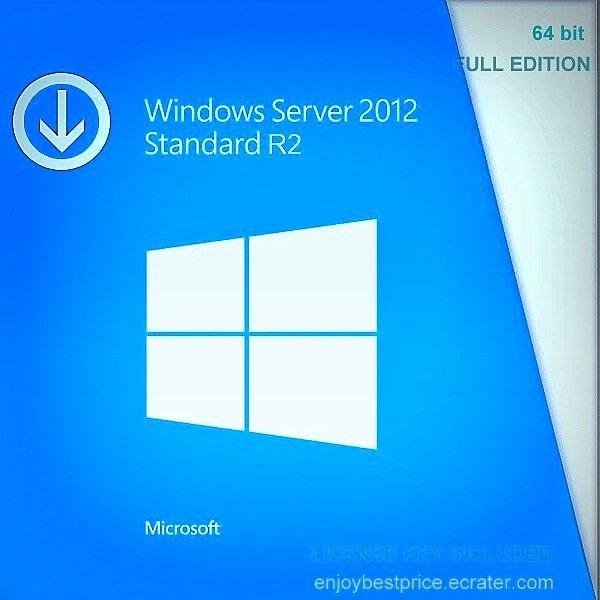 Microsoft Windows Server 2012 Standard R2 64-bit Licence Key +Soft