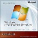 Microsoft Windows Small Business Server 2008 Premium License Key +Soft