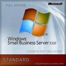 Microsoft Windows Small Business Server 2008 Standard License Key +Soft