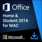 Microsoft Office for Mac Home and Business 2016  Lifetime  KEY and D/L