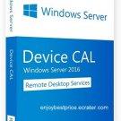 Microsoft Windows Server 2016 R2 Remote Desktop Services 10 Devices CAL 64 bit