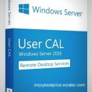 MS Windows Server 2016 & R2 Remote Desktop Services 50 USERS CAL License Key